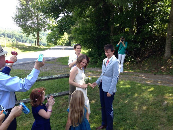 Janie and Corinne Get Hitched