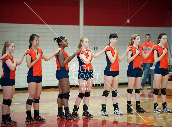 2011-10-21 Volleyball Varsity Girls Seven Lakes @ Memorial