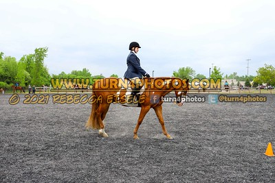 Jr. 12 & Under English Equitation 05/23/21