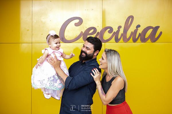 Aniversário de 1 ano da Cecilia