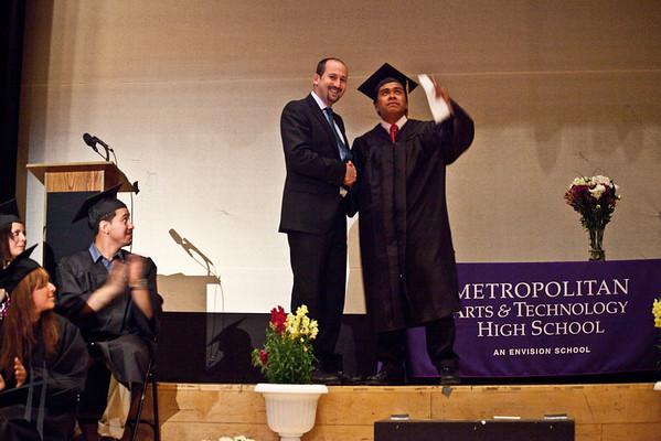 Metropolitan High School Graduation 6-12-10