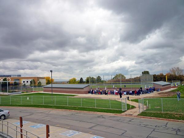 Softball Complex Campus Aerials 10/2009 Apex Aerial