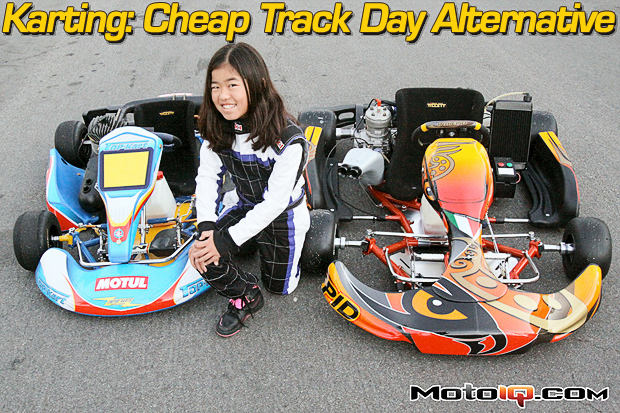 karting cheap track day alternative