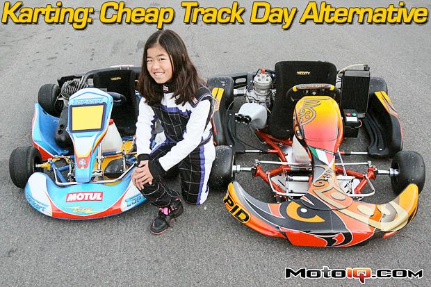 Christa Kojima karting