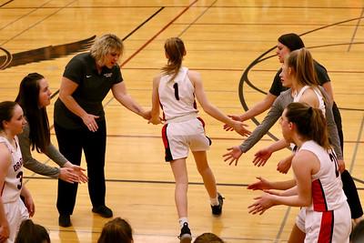 US Girls Basketball vs Colfax at District 2-13-20