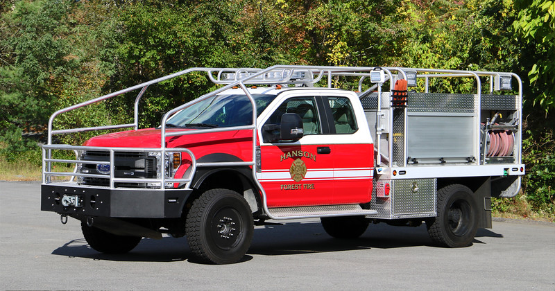 Forestry 1.  2018 Ford F-550 / Firematic Brat.  250 / 300 / 10F