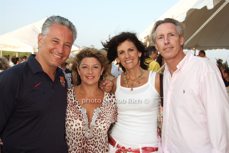 Max Dobens, Jacky Teplitzky, Elaine Saladino, Jim Saladino
