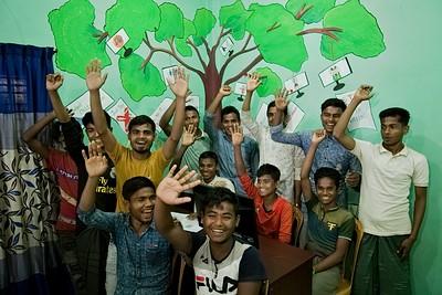 EU IcSP Jadimura Social Hub, Teknaf, Coxs Bazaar