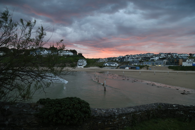 Sunrise over Polzeath 2020.JPG