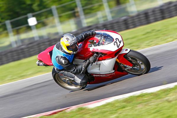 #22 - Red & White Ducati