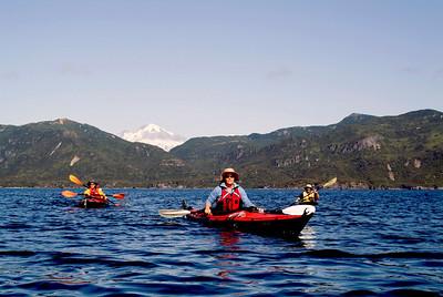 Kayaking the Katmai Coast