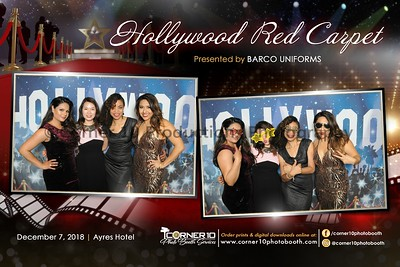 Barco Uniforms Holiday Party 2018
