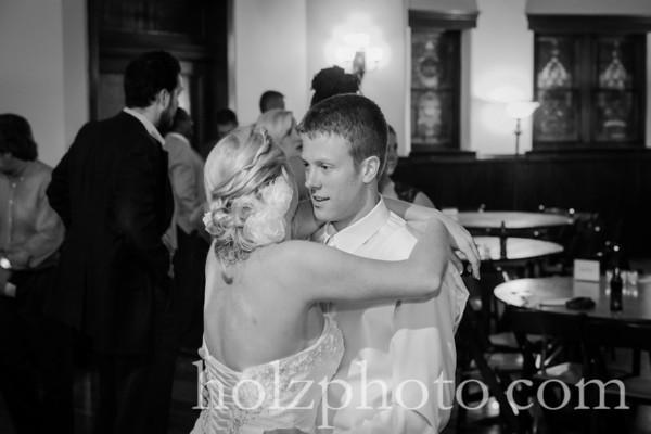 Corryn & Drew B/W Wedding Photos