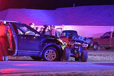 McKinney TX. Auto vs ATV. New Hope Rd. 12/11/18