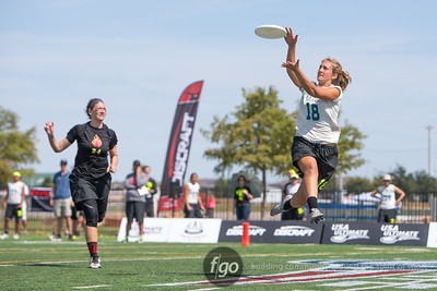 10-4-15 USA Ultimate Nationals Women's Division Championships - Boston Brute Squad v Seattle Riot