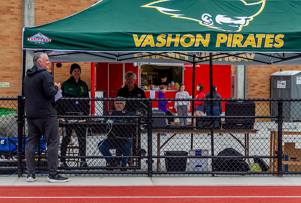 Vashon Island High School Track and Field, Nisqually meet #2, 03/27/2019