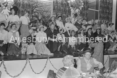 Party at Aylesbury High School, Dec 1978