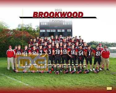 Brookwood football FB19