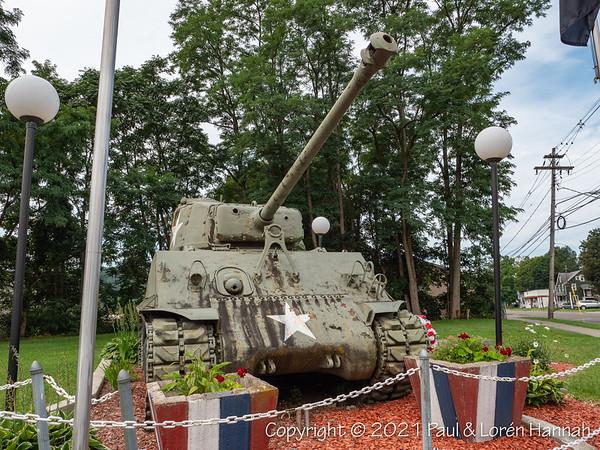 American Legion Post 492 - Waverly, NY - M4A3(76)HVSS