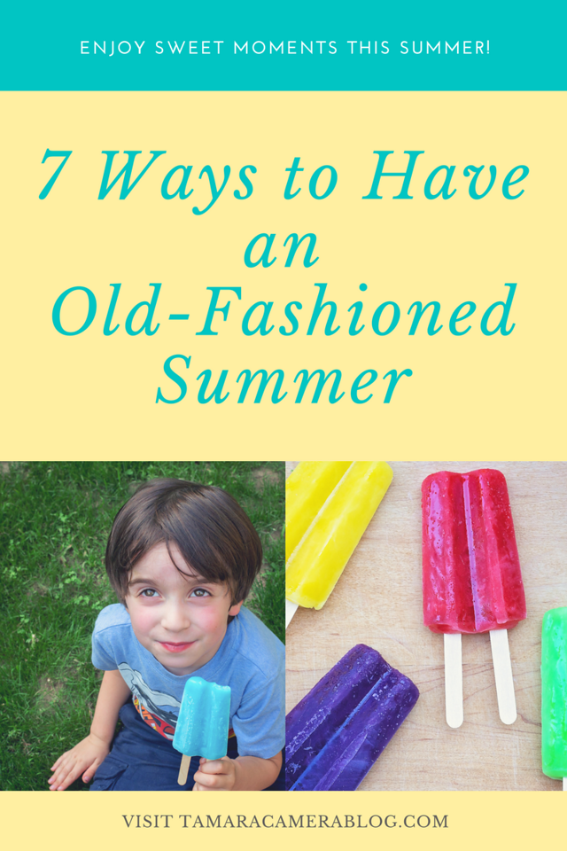 Remember the endless summers of childhood? Our kids can still have an old-fashioned summer with sweet memorable MOMents to treasure #ad #twinpopscontest #IC