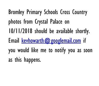 Bromley Primary Schools Cross Country Y5&6 10/11/2018 presentations