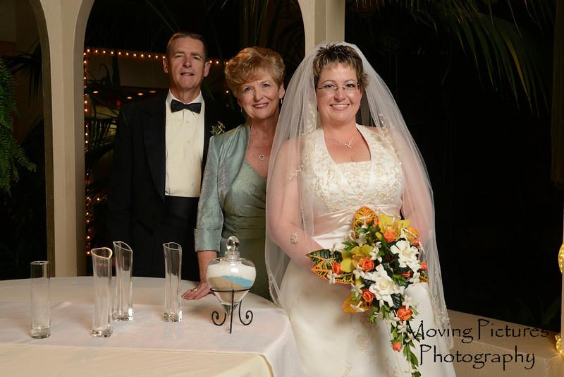 Lori with parents