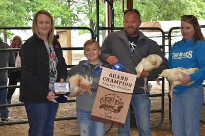Hunt County Fair 2018: Market Broilers