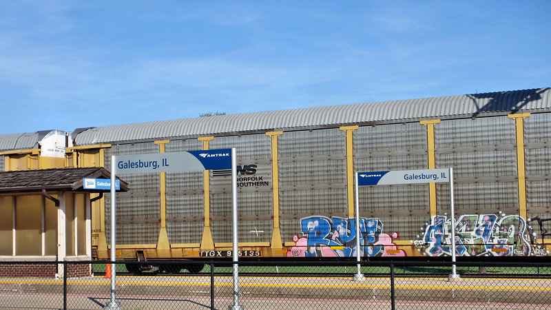 Galesburg, IL - Amtrak Station and Railroad Museum