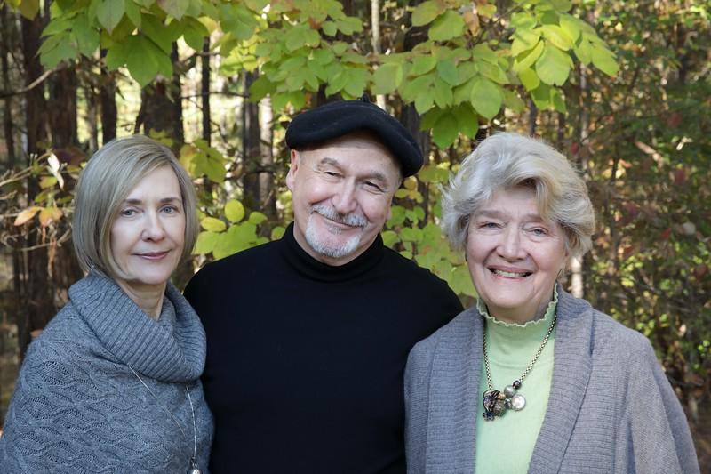 Three happy buyers