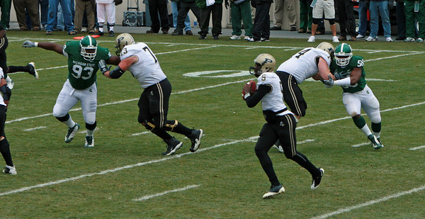 Purdue at MSU football 2008