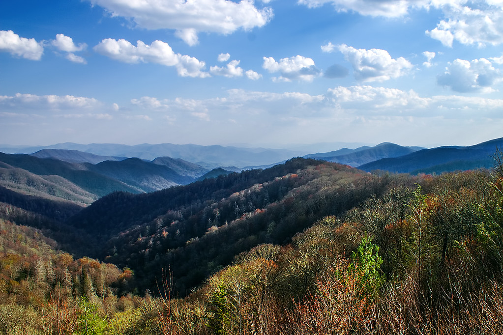 Newfound Gap Road - <br /> The Great Smoky Mountains National Park