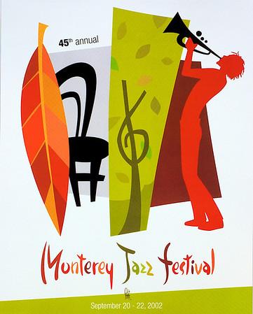 Monterey Jazz Festival Poster Designs