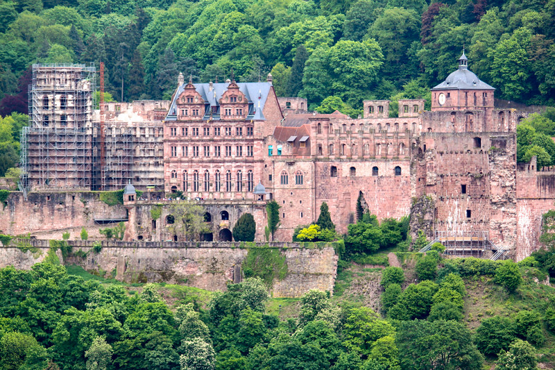 Das Heidelberger Schloß (the Heidelberg castle)