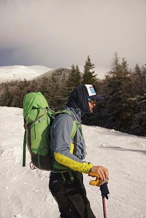 Winter Mountaineering Skiing the Cog Railway