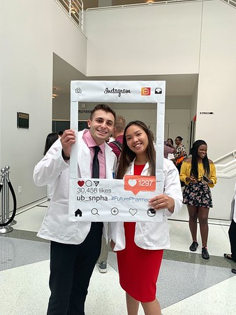 2019 White Coat Instagram Frame Photos