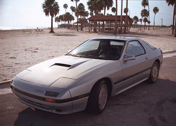 1993 11 - My 1st car - 1987  Mazda RX7