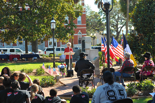 Queens Square Liberty Tree Dedication 11-10-16