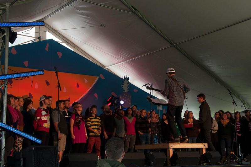 the choir @ rifftop tent