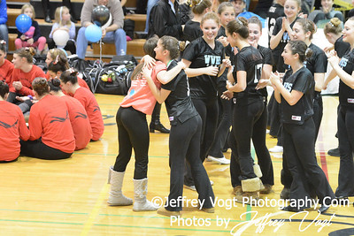 01/18/2014 Walt Whitman HS Poms Division 2 at Damascus HS, Photos by Jeffrey Vogt Photography & Kyle Hall