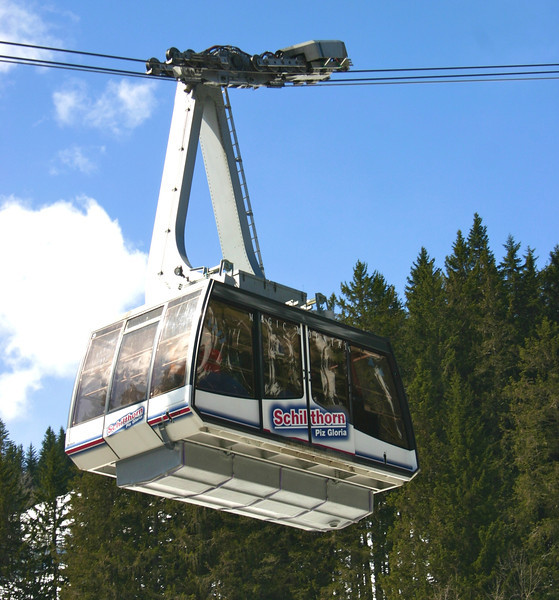 cable car to Schilthorn