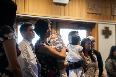 Dominic's Baptism