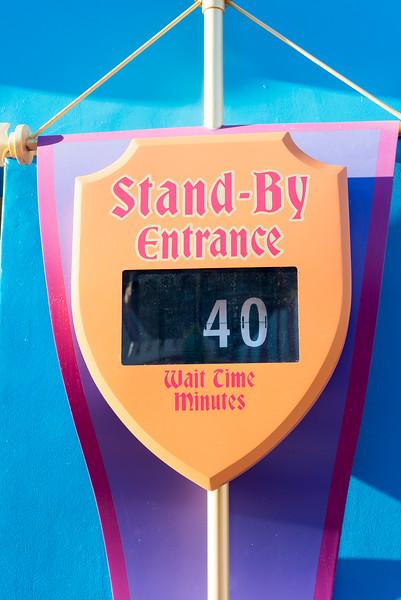 Peter Pan's Flight Long Wait - Magic Kingdom Walt Disney World
