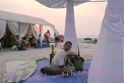 Cosmic Oasis Dinner at Burning Man