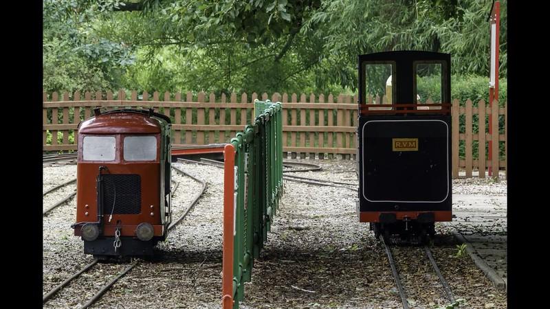Hasty Visiting Watford Miniature Railway