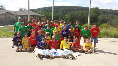 Seaboard USY Encampment and Kamp Kadima August 2016