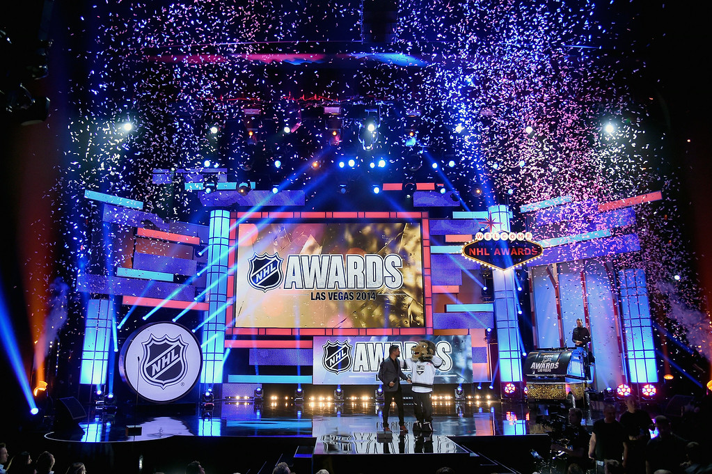 . LAS VEGAS, NV - JUNE 24: A general view during the 2014 NHL Awards at the Encore Theater at Wynn Las Vegas on June 24, 2014 in Las Vegas, Nevada.  (Photo by Ethan Miller/Getty Images)