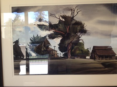 Watercolor Show of California Paintings at Pomona College, May 2015