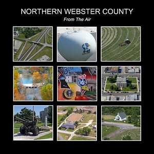 Book: Northern Webster County From the Air. On sale at select stores in Marshfield and on-line at major books stores.