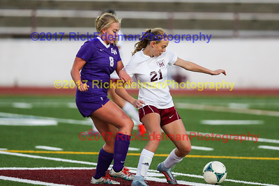 Lake Washington vs Mercer Island JV Soccer