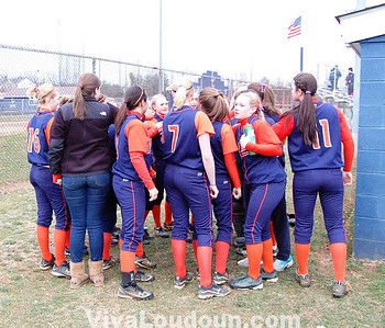 Softball: Loudoun County vs. Briar Woods (by Lakshmi Kopparam)